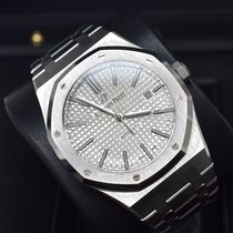 Audemars Piguet Royal Oak Selfwinding Steel 41mm Silver No numerals United States of America, Virginia, Arlington