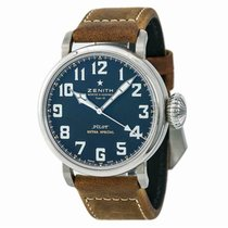 Zenith Pilot Type 20 Extra Special Steel 51mm Black Arabic numerals United States of America, New York, New York