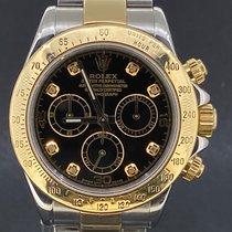 Rolex Daytona Or/Acier 40mm Noir Sans chiffres Belgique, Antwerpen