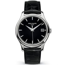 Patek Philippe Calatrava White gold 39mm Black No numerals