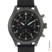 IWC Pilot Chronograph Top Gun Keramiek 44mm Zwart Arabisch Nederland, Maastricht