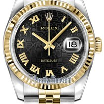 Rolex Datejust 36mm Stainless Steel and Yellow Gold 116233...