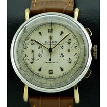 "Rolex | Chronograph Antimagnetique ""Coin-Edge"", made..."