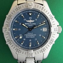 Breitling Colt Automatic Date 500m Blue Dial Box&Papers