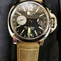Panerai LUMINOR GMT AUTOMATIC ACCIAIO - 44MM