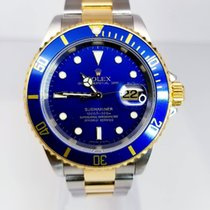 Rolex 16613 Gold/Steel 2007 Submariner Date 40mm pre-owned United States of America, New York, New York