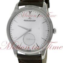 Jaeger-LeCoultre Master Grande Ultra Thin Steel 40mm Silver No numerals United States of America, New York, New York