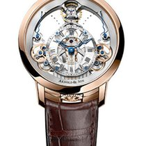 Arnold & Son Time Pyramid 18K Rose Gold Men's Watch