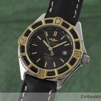 Breitling Lady J Class Stahl / Gold Damenuhr Klassiker Top D52065