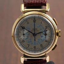 Vulcain Gult gull Manuelt Sølv Arabisk 36mm brukt