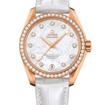 Omega Seamaster Aqua Terra Rose gold 38.5mm Mother of pearl