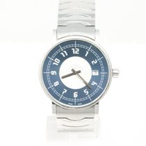 Montblanc Summit Steel 38mm Blue Arabic numerals