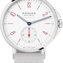 NOMOS Ahoi Neomatik Steel 36.3mm White United States of America, New York, Airmont