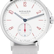 NOMOS Ahoi Neomatik Steel 36.3mm White United States of America, New York, Airmont