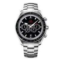 Omega Speedmaster Broad Arrow Steel 44.2mm Black