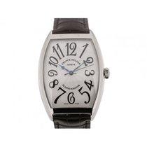 Franck Muller Casablanca Cintree Curvex 47mm Silver Dial Black...