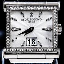 De Grisogono Instrumento Grande so2 - 18K White Gold - Retail...