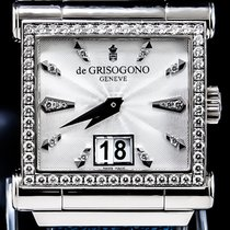 De Grisogono 40mm Automatik gebraucht Instrumento Grande Silber