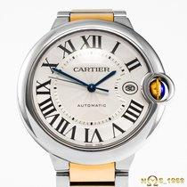 Cartier Ballon Bleu 42mm Stal 42mm Srebrny Rzymskie Polska, Rzeszów