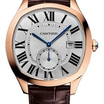 Cartier new Automatic Small Seconds 40mm Rose gold Sapphire crystal