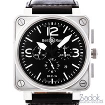 Bell & Ross Chronograph 46mm Automatic pre-owned BR 01-94 Chronographe Black