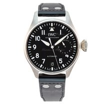 IWC Big Pilot Steel 46.2mm Black Australia, Melbourne