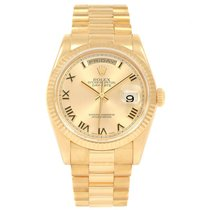 Rolex 118238 Yellow gold 2001 Day-Date 36 36mm pre-owned United States of America, Georgia, Atlanta