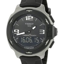 Tissot T-Race Touch Acero 42,15mm Negro