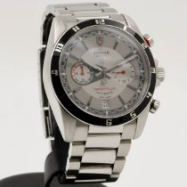 Tudor pre-owned Automatic 42mm Grey Sapphire Glass