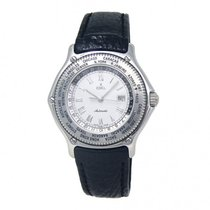 Ebel pre-owned Automatic 34mm White Sapphire Glass 5 ATM