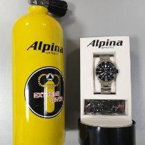 Alpina Seastrong Acero 44mm Negro