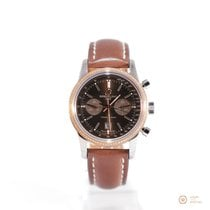 Breitling Transocean Chronograph 38 Steel Brown