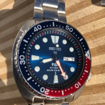 Seiko Prospex Acero 45mm Azul Sin cifras