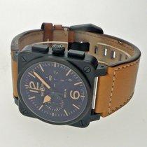 Bell & Ross BR 03-94 Chronographe Сталь 42mm Черный Aрабские