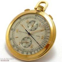 Patek Philippe Oro amarillo Cuerda manual Plata Árabes 45mm usados Vintage