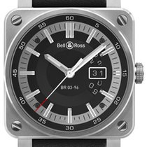 Bell & Ross BR03-96 Grande Date 42mm BR0396-SI-ST