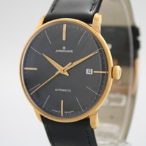 Junghans Meister Classic Stal 38mm Czarny