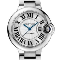 Cartier Ballon Bleu 33mm Steel 33mm Silver Roman numerals United Kingdom, London