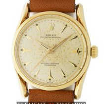 Rolex Oyster Perpetual Bombay 14k Yellow Gold 33mm Circa 1961