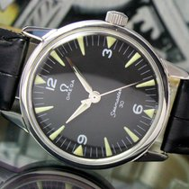 Omega Seamaster 30 Winding Black Radium Dial Steel Vintage Watch