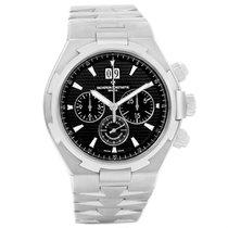 Vacheron Constantin Overseas Chronograph Black Dial Watch 49150