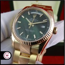 Rolex Day-Date Oyster Bracelet GREEN Dial