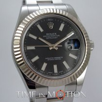 Rolex Oyster Perpetual Datejust 2 116334 Noire Complete