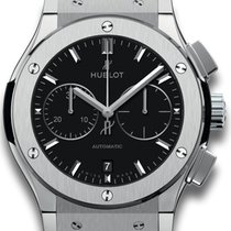 Hublot Chronograph 42mm Automatic 2019 new Classic Fusion Chronograph Black