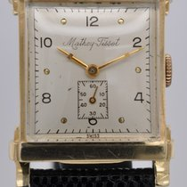 Mathey-Tissot Yellow gold Manual winding K.6 pre-owned