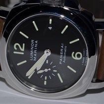 Panerai Luminor Marina Automatic Steel 44mm Black Arabic numerals United States of America, New York, Greenvale