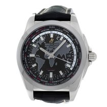Breitling New Authentic Mens Galactic Unitime  WB3510U4 BD94