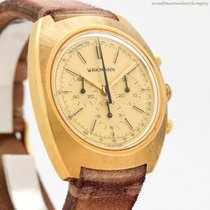 Wakmann Chronograph 38mm Manual winding 1960 pre-owned Champagne