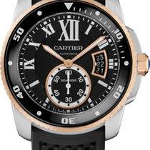 Cartier 42mm Remontage automatique 2014 occasion Calibre de Cartier Diver Noir