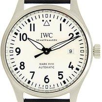IWC Pilot Mark Steel 40mm Silver